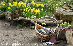 Doing a spot of Gardening….