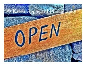 And, Karen Appleyard Photography is now Open!