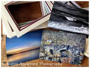 ... I could display & sell prints from home! I begin to mount my own images...