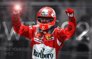 And we end with thoughts and well wishes going to Schumi. A legend & an Inspiration to me.