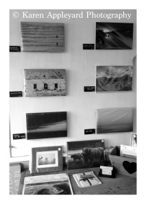 ... not stopping there, I had some Fine Art Prints done & the office had now become a Gallery!