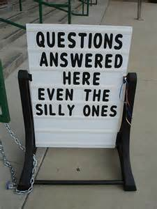 The Questions will be varied ...